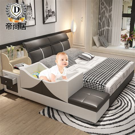 Lit Multifonction De Luxe by Tatami Bed Master Bedroom Modern Leather Bed Marriage