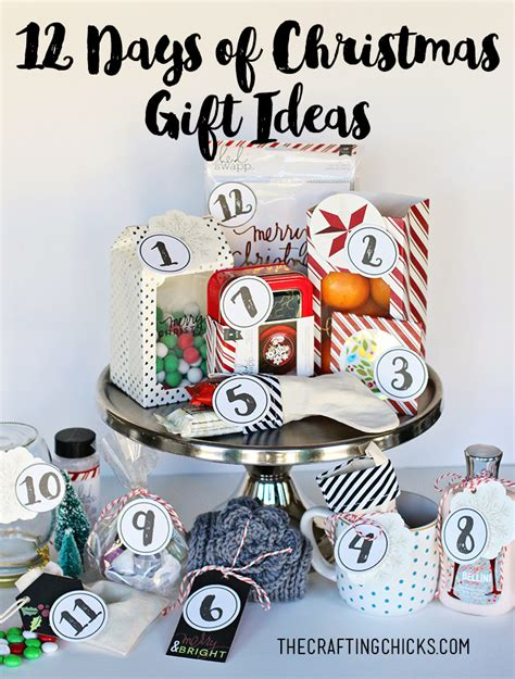 best 12 days of christmas gifts 12 days of gift ideas