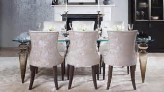 Luxury Dining Table And Chairs Luxury Upholstered Dining Chairs Designed And Handmade In The Sofa Chair Company