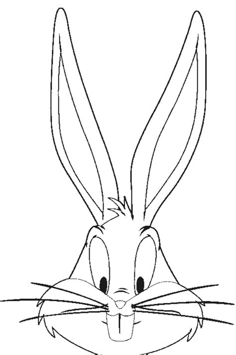 coloring pages bunny face free coloring pages of rabbit face mask