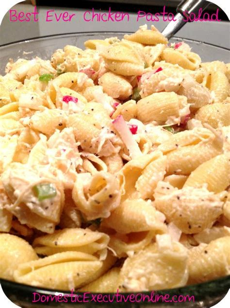 pasta salad recipe cold 25 best ideas about cold chicken salads on pinterest