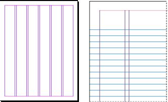 indesign grid template use grids in adobe indesign