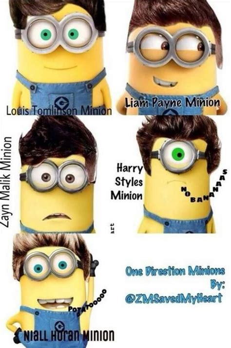 minions de one direction imagines 1000 images about her minions on pinterest minions