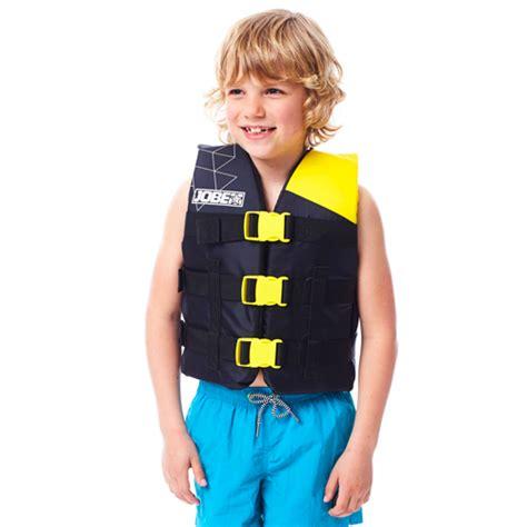 reddingsvest geel jobe nylon zwemvest geel kind reddingsvesten be