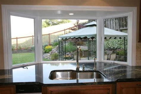 Bay Window Garden Ideas Stylish Garden Bay Windows For Kitchen Kitchen Window Ideas Windowseatbaywindowkitchen