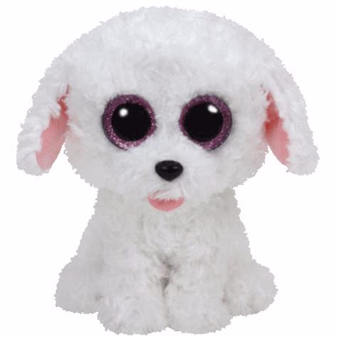ty beanie boos dogs ty beanie boos 6 pippie the white regular size soft boo new ty beanie boos