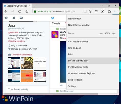 chrome untuk windows 10 cara pin website di firefox chrome dan internet explorer