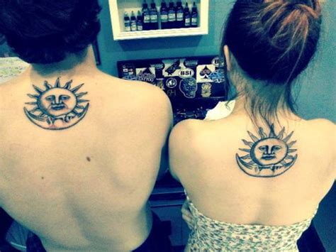 sun and moon tattoo for couples 77 sun and moon tattoo ideas for ink lovers everywhere
