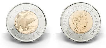 composition 2 dollar canadien 2 dollars