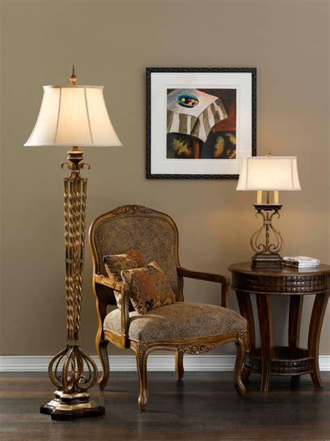 castalia floor lamp  table lamp  murray feiss lighting traditional living room