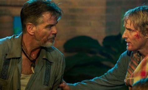 owen wilson action movies owen wilson and pierce brosnan brace themselves in no