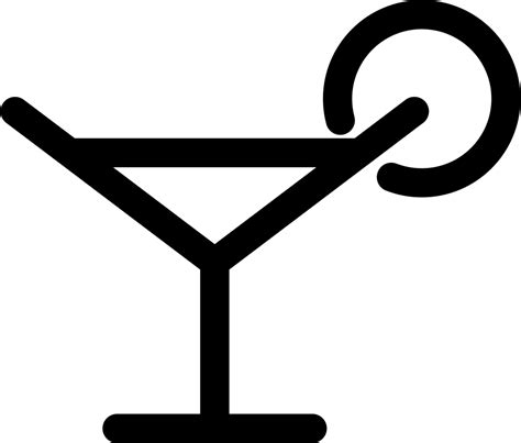margarita glass svg margarita glass drink svg png icon free 58080