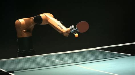 everybody loses in ping pong match between robot and