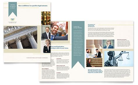 Law Firm Brochure Template Word Publisher 11x17 Tri Fold Brochure Template Publisher