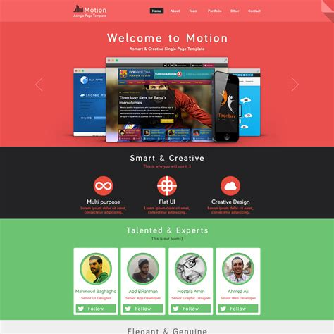 Psd Web Template Designing Innovative Web Solutions Home Page Template