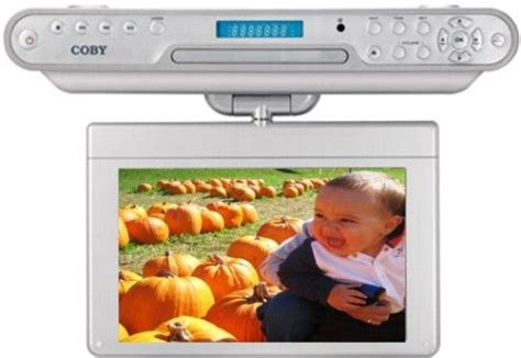 coby cabinet tv coby ktf dvd1093 widescreen 10 inch tft the cabinet dvd cd player with atsc digital tv