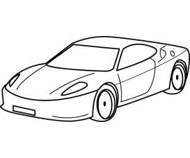 drawing sports car coloring child coloring