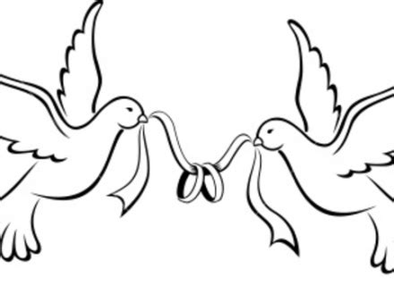 Birds Wedding Clipart by Birds Wedding Clipart Clipground