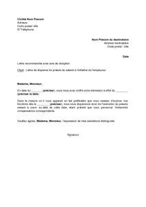 mod 232 le pr 233 avis modele lettre gratuite pour envoi document