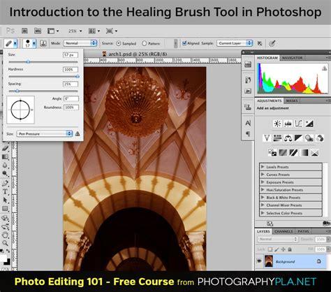 photoshop cs3 healing brush tutorial image editing tutorial the healing brush blog photo