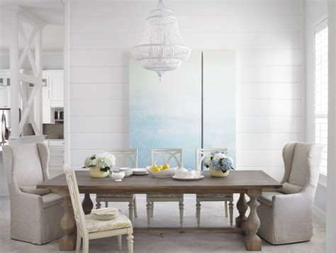 miami craftsman dining table room beach style  tongue