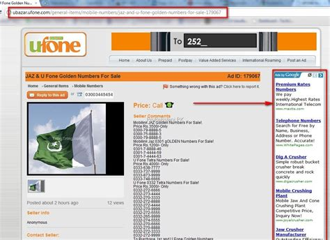 adsense on website adsense spotted on ufone s website corporate fail