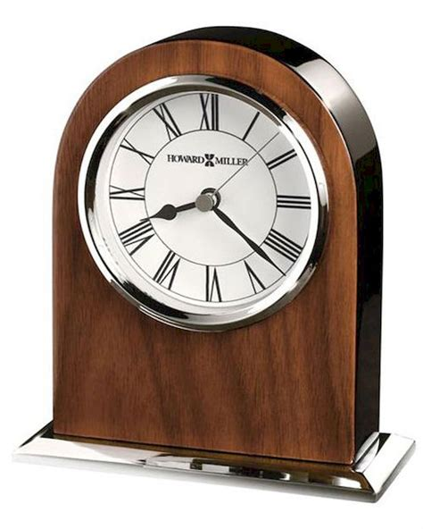 table clock palermo by howard miller hm 645769