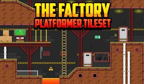factory platformer tileset paid environment art