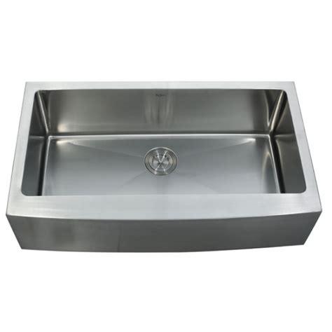 36 Kitchen Sinks Kraus Khf200 36 Kpf1612 Ksd30ch 36 Inch Farmhouse Single Bowl Stainless Steel Kitchen Sink With