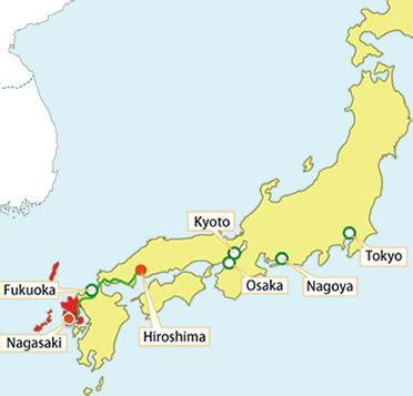 nagasaki map getting here discover nagasaki visit nagasaki the