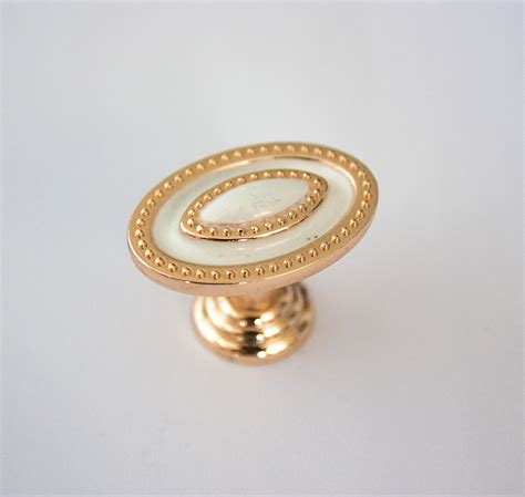 Closet Door Knobs And Pulls Aliexpress Buy Gold And White Cabinet Drawer Handles Golden Kitchen Dresser Knobs