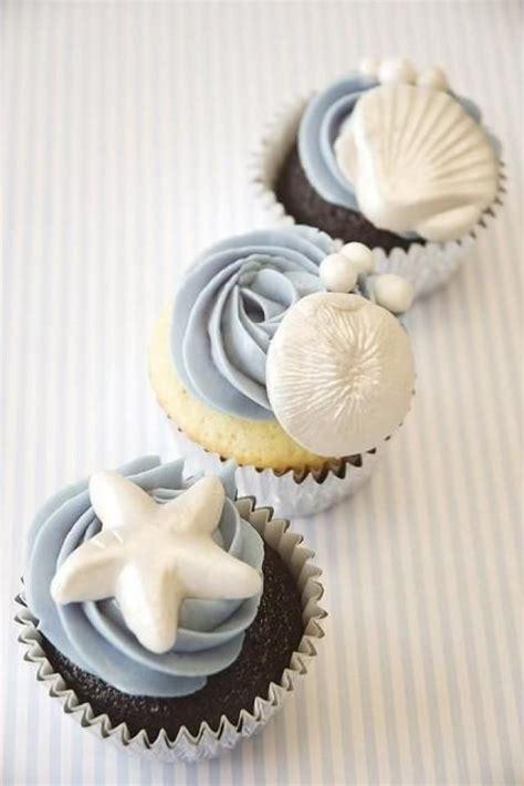 wedding seaside theme cupcakes 2057982 weddbook