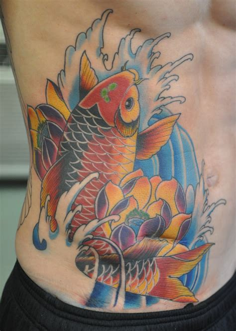 koi tattoo designs meaning koi fish and lotus designs