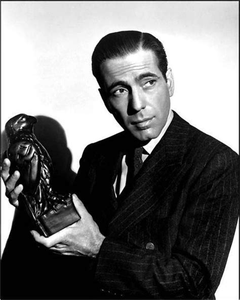 Humphrey Bogart and The Maltese Falcon. The stuff that