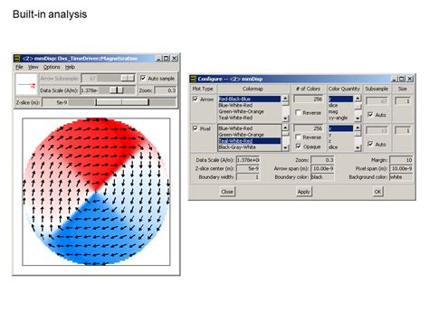 tutorial on vector analysis oommf tutorial part 4 archives deparkes