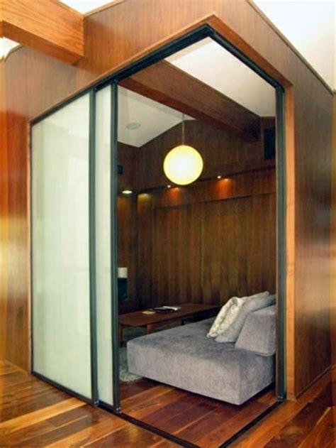 Room Dividers Sliding Doors by Sliding Doors As Room Dividers More Privacy In The Small