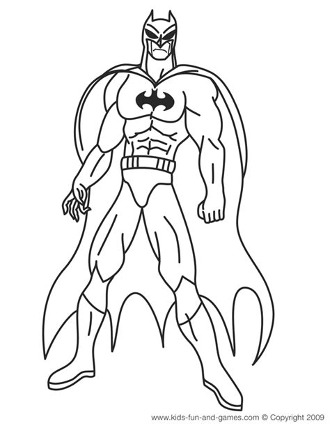 superhero coloring pages games batman coloring pages courtesy of kids games central