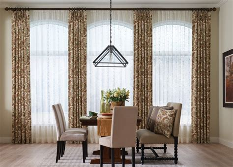 Window Treatments For Living Room And Dining Room by Dining Room Curtains Dining Room Window Treatments