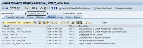 net framework discussion list friday february 27 2015 7 techsap sap abap switch framework