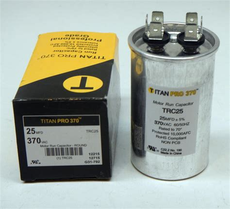 capacitor mfd formula heating furnace capacitor 28 images titanpro trc17 5 hvac motor run capacitor 17 5 mfd uf