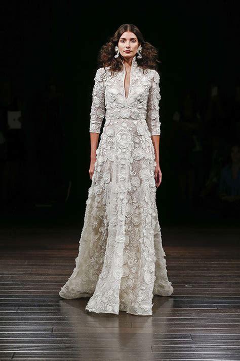 40 Best Wedding Dresses from Bridal Fashion Week Fall 2017