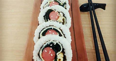 kimbab  resep cookpad