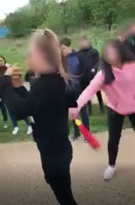 school fight features hair pulling and foam bat deadline news