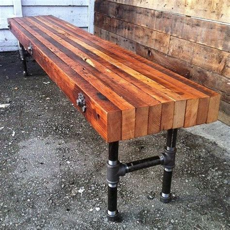stronger bench 25 best ideas about reclaimed wood benches on pinterest