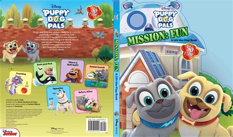 puppy pals dvd puppy pals mission a lift the flap book out now diskingdom disney