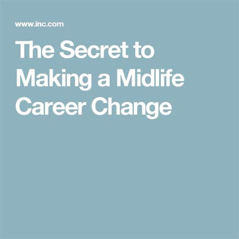 Mid Career Change Mba by Best 20 Midlife Career Change Ideas On Career