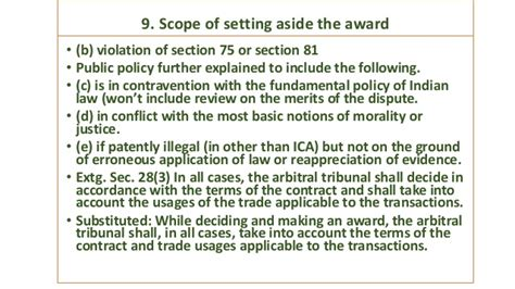 section 9 arbitration act arbitration conciliation act 1996 amdt ordinance