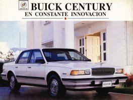 car maintenance manuals 1994 buick century auto manual 1994 buick century brochure