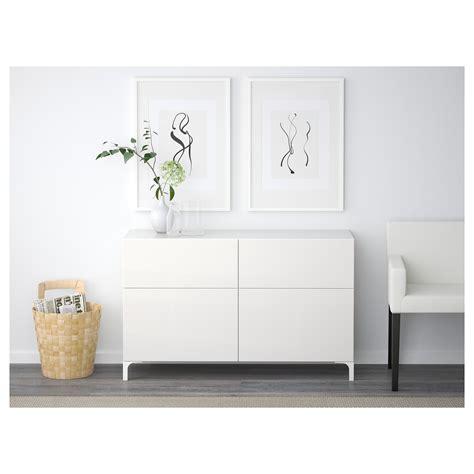 ikea besta storage combination with doors and drawers best 197 storage combination w doors drawers white selsviken