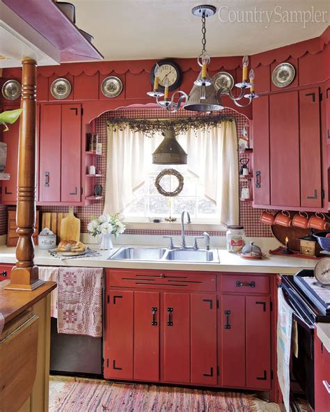 red country kitchen cabinets 17 best ideas about red country kitchens on pinterest